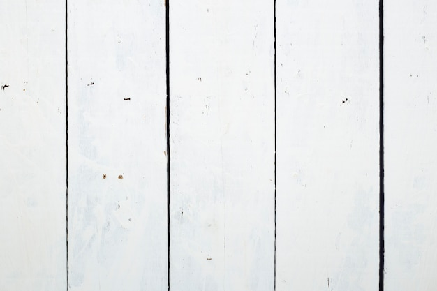 White wood floor texture background with dirty and scratched
