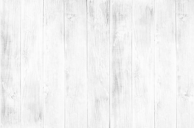 白色木地板纹理和背景。