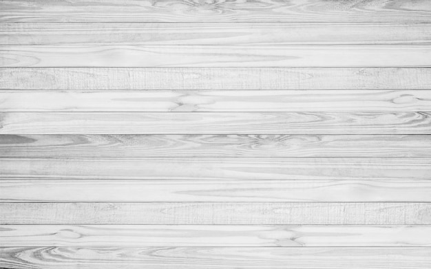 White wood texture background, wood planks