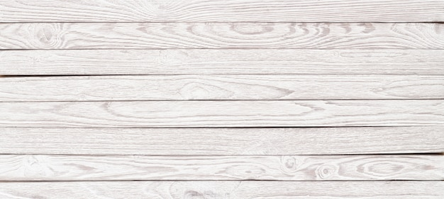 White wood texture for the layout, panorama wooden table for background