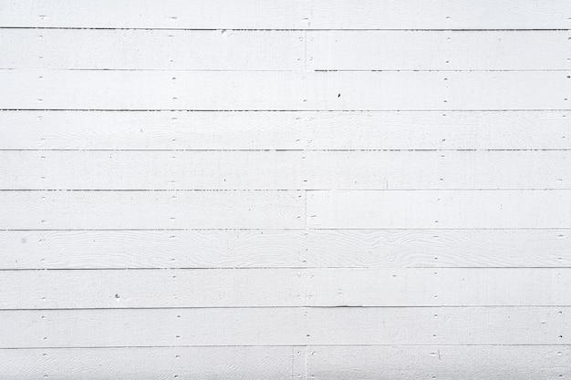 White wood wall
