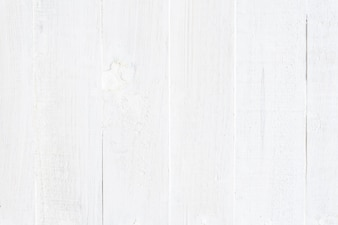 White wooden background.