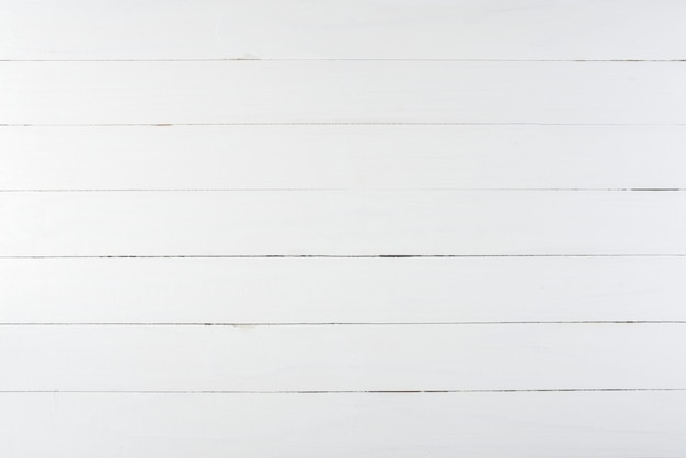 White wooden board background.
