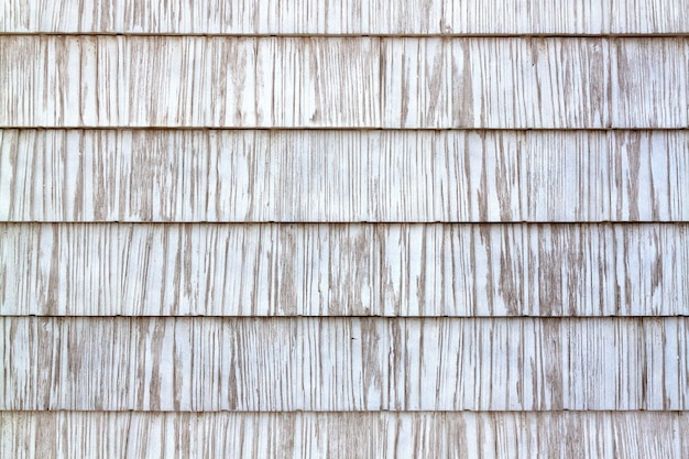 White wooden old texture as a retro pattern