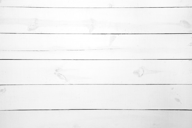 White wooden plank background