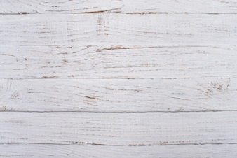 White wooden surface