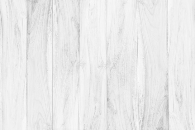 White wooden table top texture background clean wood floor top