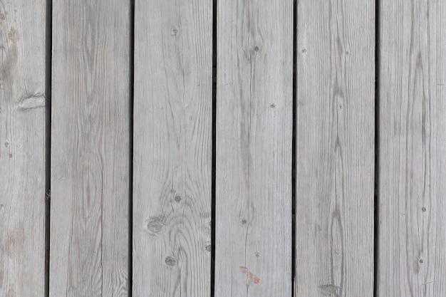 흰색 나무 테이블 상단 보기, 빈티지 배경입니다.