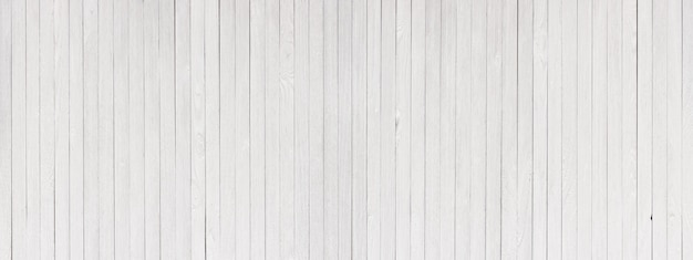 White wooden texture as a background