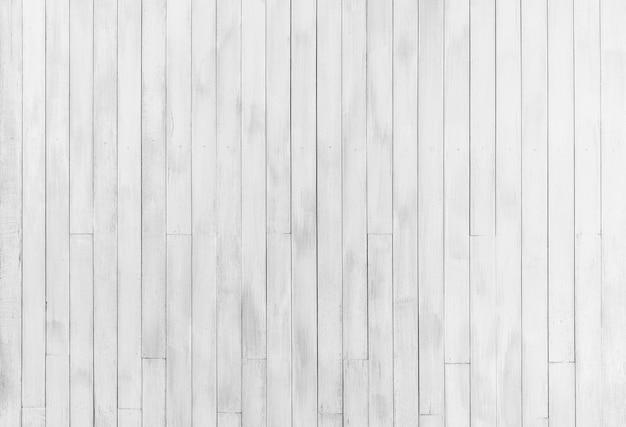白色木墙壁纹理背景。