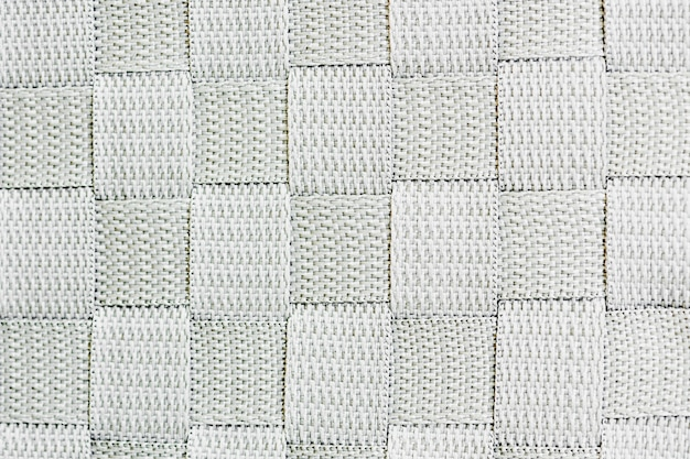 White woven criss-cross hatchwork material