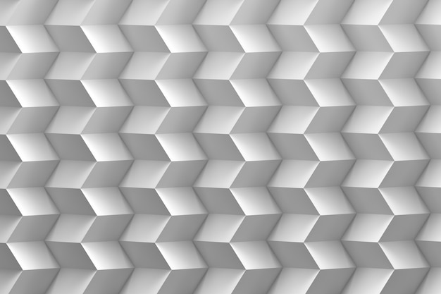 White zigzag pattern in white colors