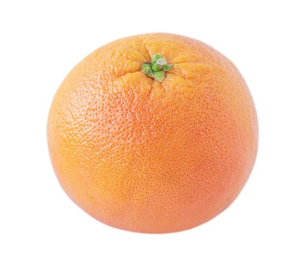 Whole grapefruit isolated