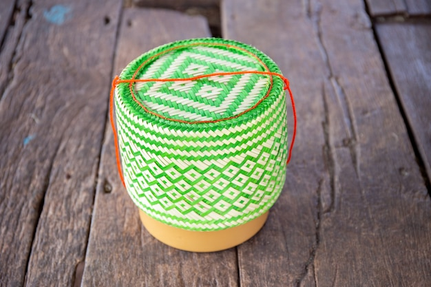 Wicker baskets product of thailand