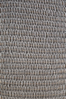 Wicker or rattan basket texture. wall of basket surface. pattern wall.