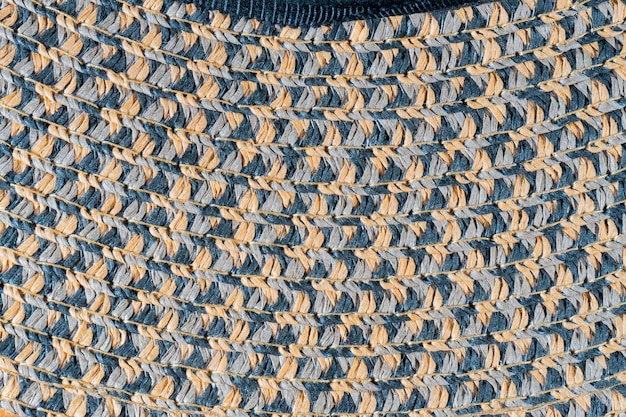 Wicker straw texture