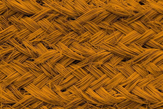 Wicker texture background amberglow
