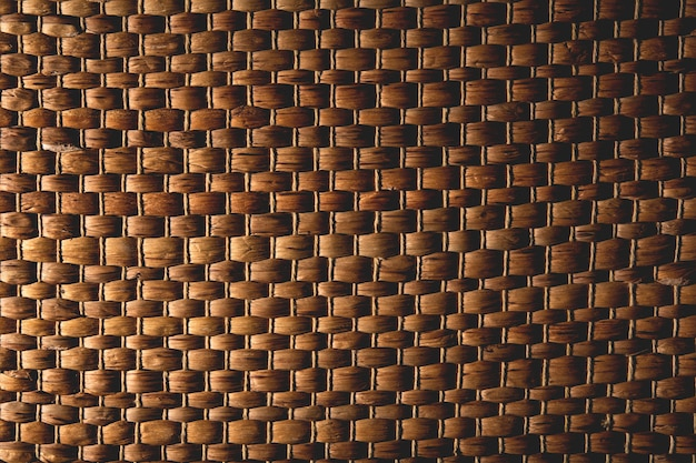 Wicker texture close up