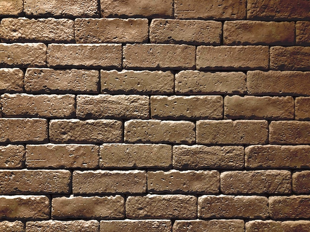 Wide black brick wall panoramic background texture. home and office design backdrop