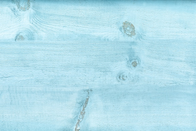 Wide board with blue faded paint. vintage texture