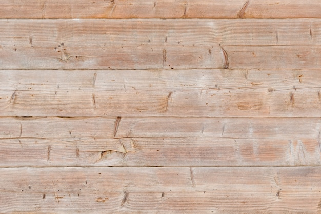 Wide horizontal untreated boards. texture background