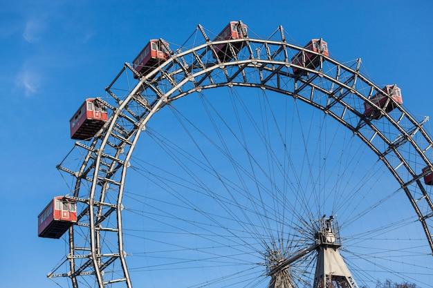 Wiener riesenrad, famous ferris wheel in wien