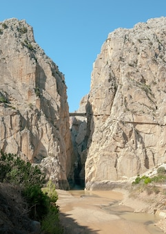 Wiew of the gaitanes gorge