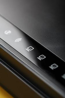 Значки индикации wifi-роутера для управления макросами