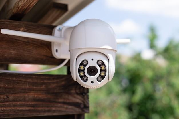 Камера наблюдения wi-fi на доме