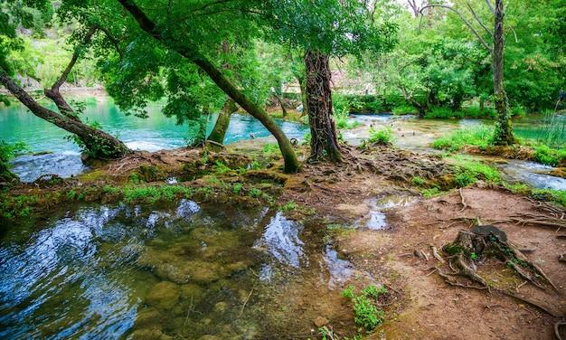 Krka 국립 공원, 크로아티아의 야생 풍경