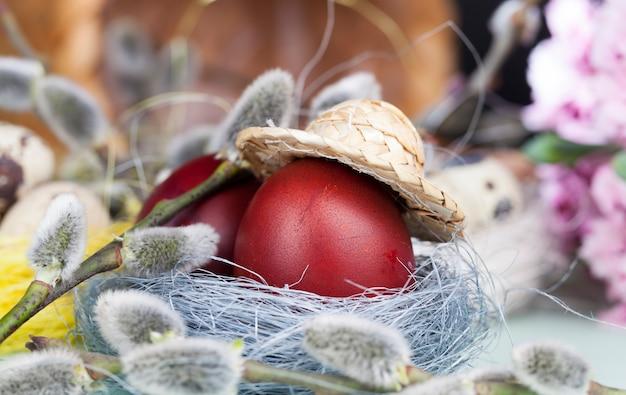 버드나무 가지와 달걀