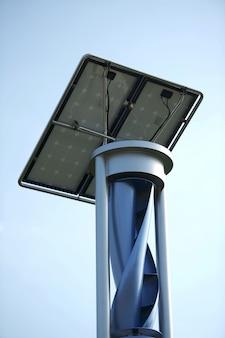 Ветер и солнечный генератор