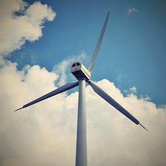 &quot;青空の風力発電機&quot;