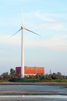Wind-mill electric generating plant (near scholkino town, crimea, ukraine).