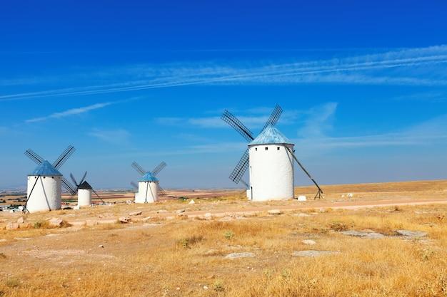 La mancha、スペインの風車