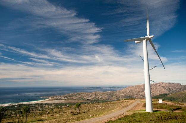 스페인의 바람 공원 풍경