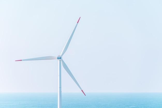 Wind turbine electric generator for renewable energy