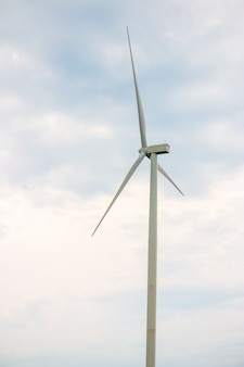 Wind turbine farm power generator for production of renewable green energy