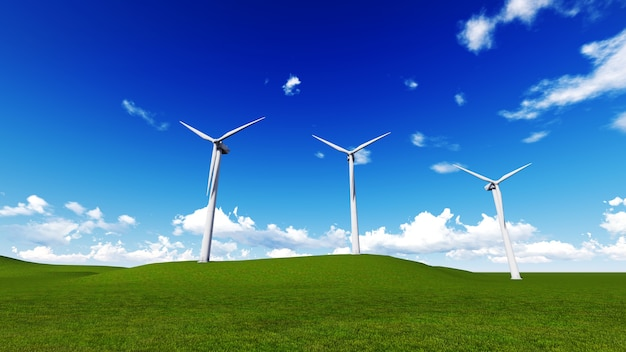 Wind turbine fram