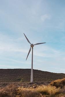 풍력 터빈은 친환경 에너지인 풍력 에너지의 발전기입니다. 재생 에너지