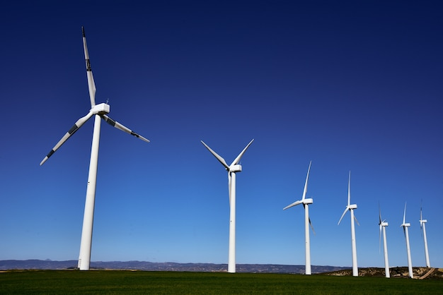Wind turbines for electric power production