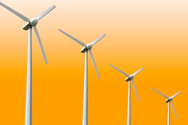풍력 터빈 농장, 풍력