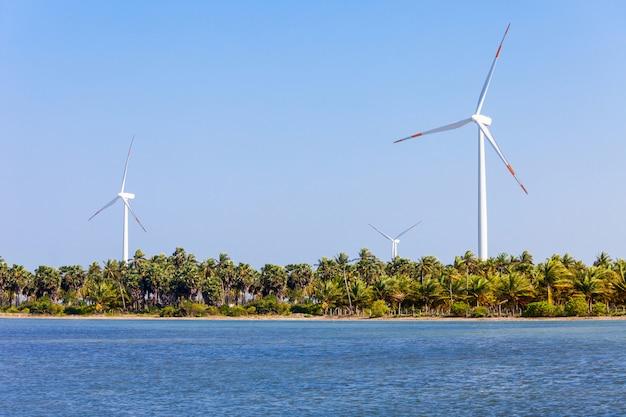 Ветрогенераторы калпития, шри-ланка