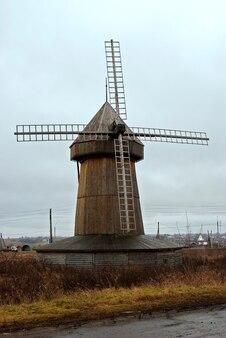 Мельница в сельской местности