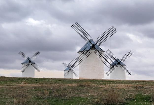 The windmills of campo de criptana
