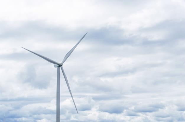 Windmills clean energy