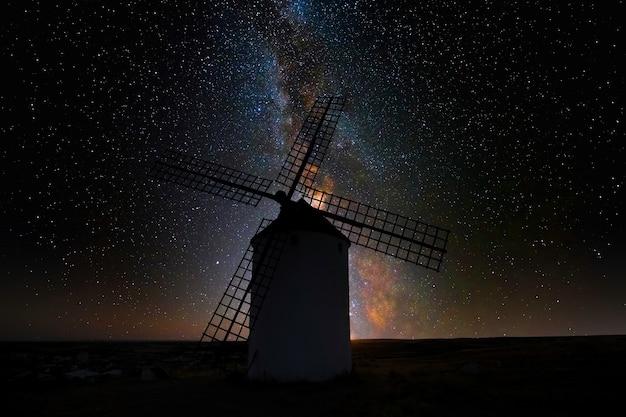 スペインのラマンチャの風車