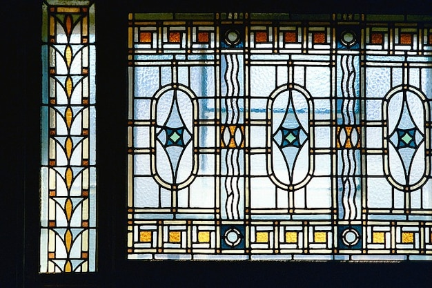 Window building art architecture nouveau