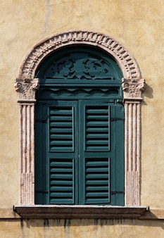 Window of a building in venice