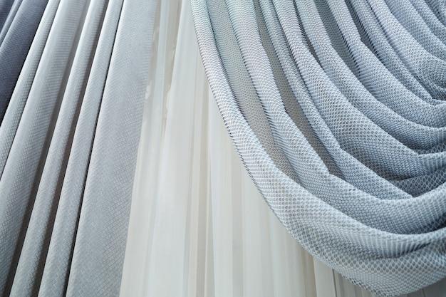 Оконные шторы, винтажные шторы для квартиры